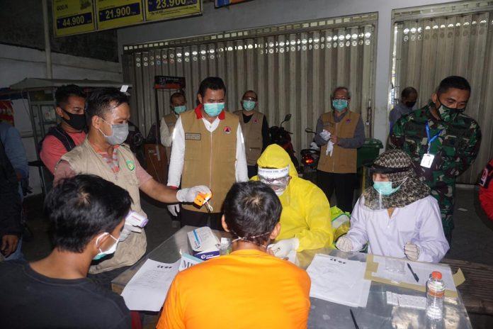 338 Orang Pelanggar Jam Malam di Mojokerto saat Rapid Test Hasilnya Nonreaktif