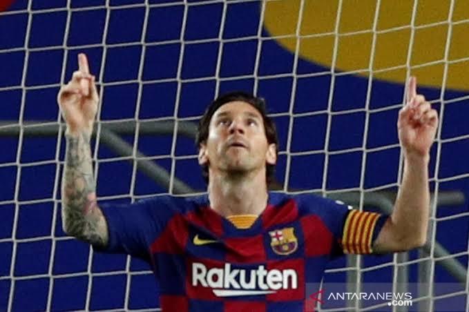 Gol ke 699 Messi Menit 69 antar Barca Bungkam Leganes