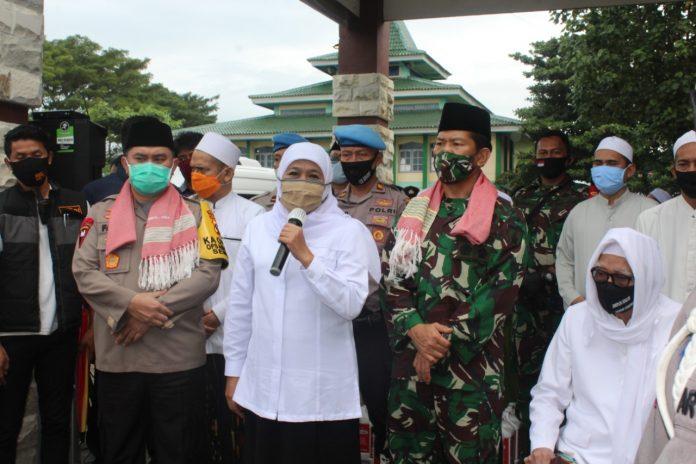 Pangdam V Brawijaya Kunjungi Pondok Pesantren Lirboyo dan Al Falah Ploso