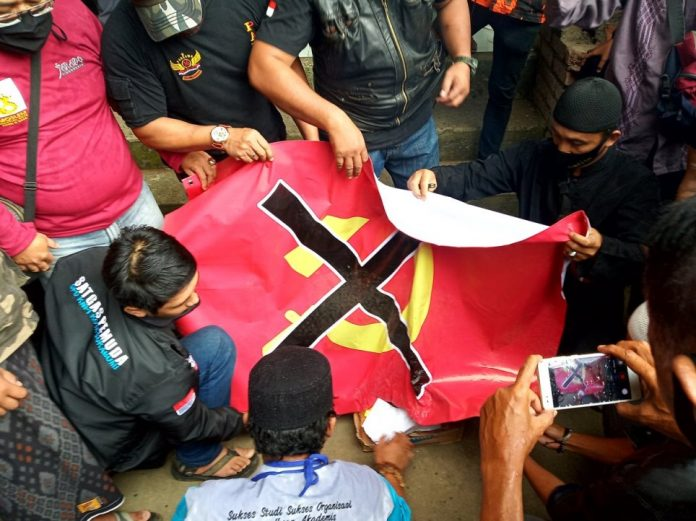 LSM dan Aliansi Rakyat Sukabumi Raya Tolak RUU HIP