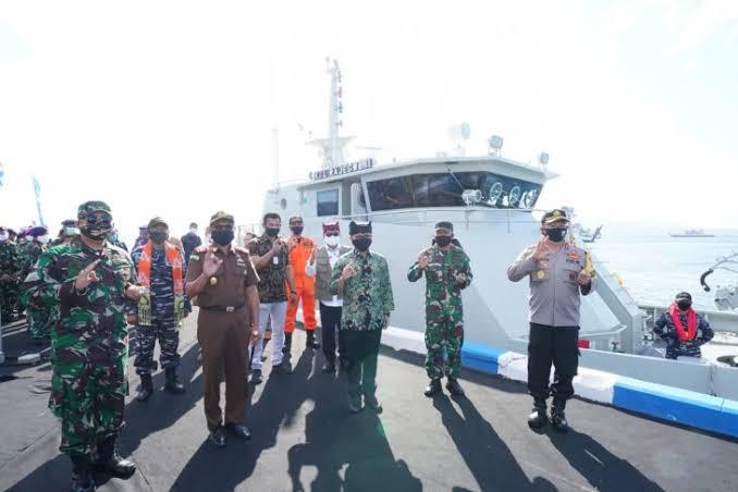 Kapal Angkatan Laut Rajegwesi Perkuat Pangkalan TNI AL Banyuwangi