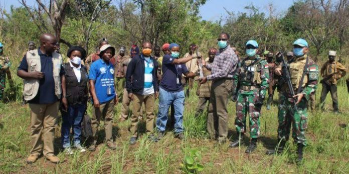 Satgas Indo RDB XXXIX-B Sukses Akhiri Pertikaian 3 Suku di Kongo