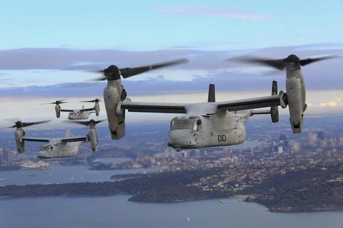 Kemenhan Beli 8 Pesawat Osprey Baru dan Alutsista Anti Rudal